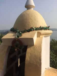 Christmas with a view at Fort Tiracol Goa