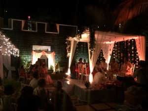 Wedding Fort Tiracol