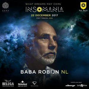 Baba Robijn at Insomania What dreams May come at Fort Tiracol