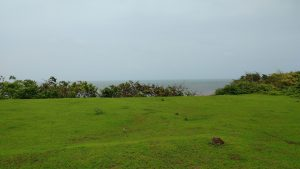 Fort Tiracol monsoon in Goa